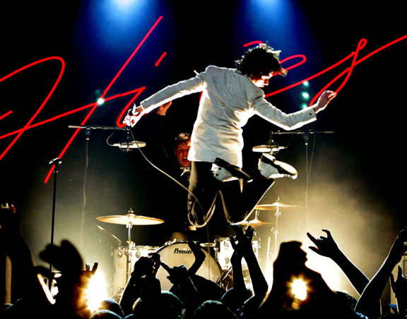 Review: VHS or Beta, Feist, and The Hives; Saturday, November 10, 2007; 4th & B, San Diego